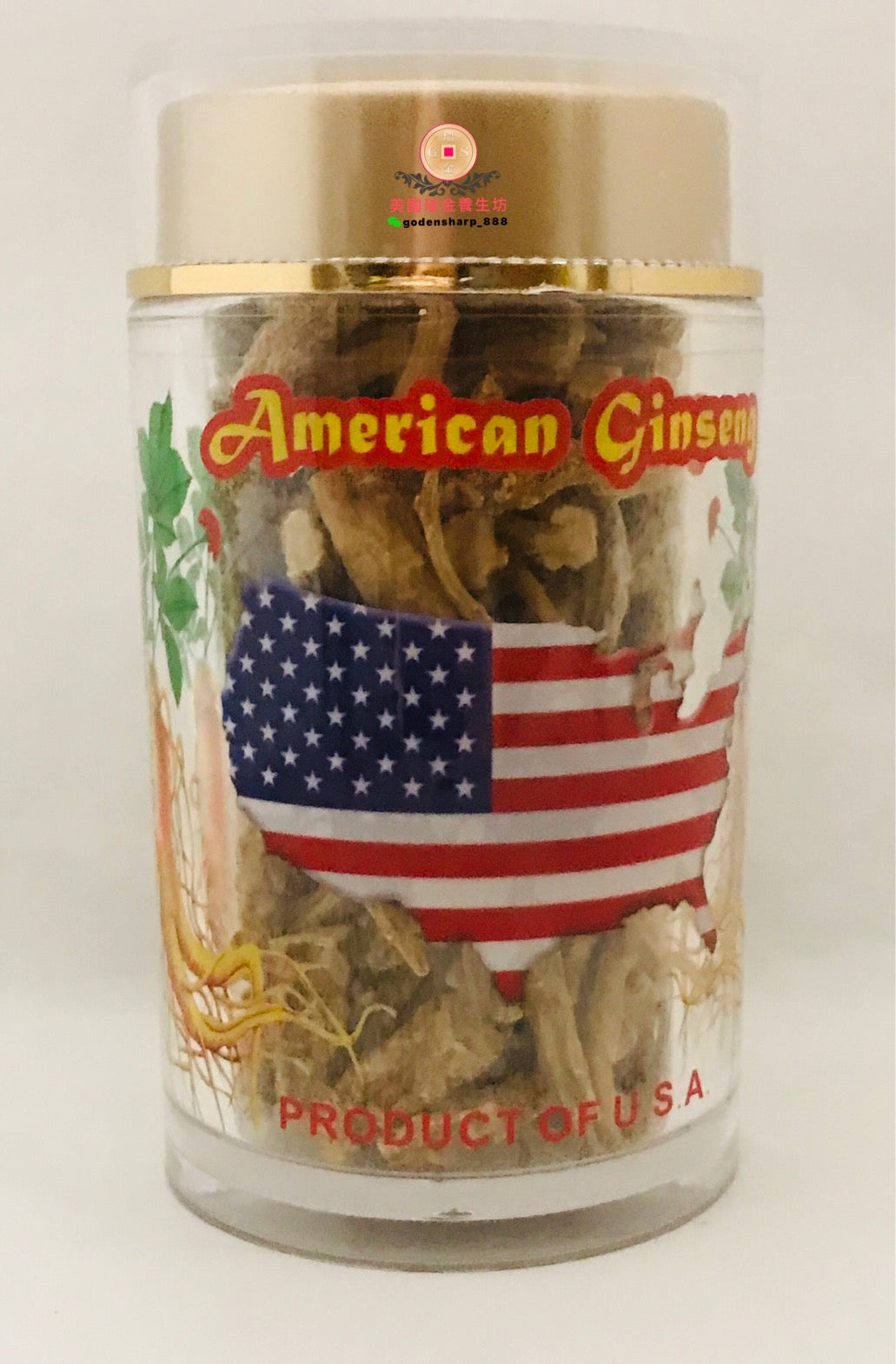 *** 花旗參中小節 Am. Ginseng Coarse Body MS. 80g