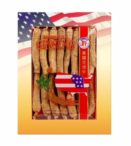 Hsu's American Ginseng, Half Short Medium Small(許氏长型中小號), 4oz,精選產品:買3送1
