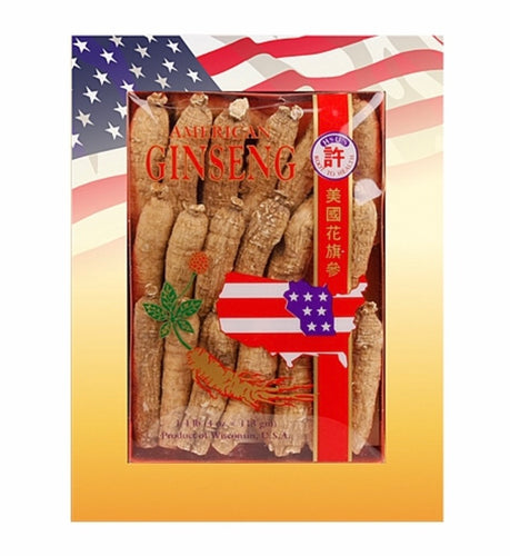 Hsu's American Ginseng, Half Short Medium(許氏短枝中號), 4oz