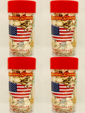 American Ginseng Slices Mid Small(花旗參片罐裝中小號), 3oz * 4瓶