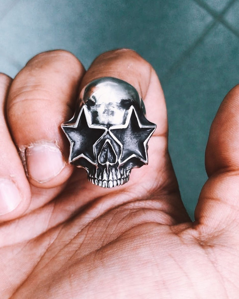 Living The Dream Skull Ring...