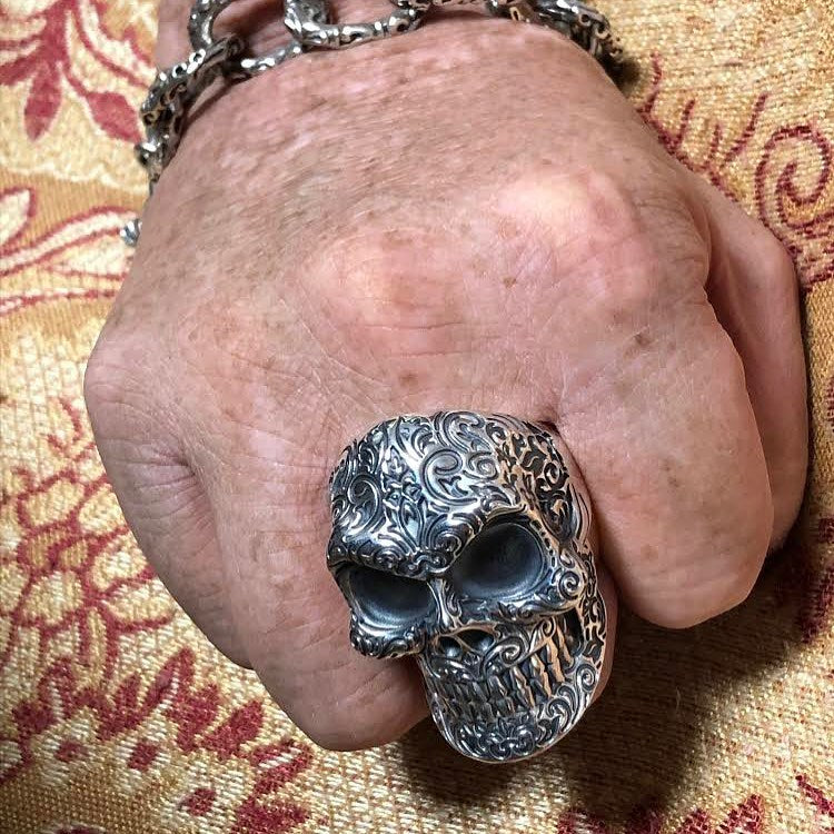 Regal Skull Ring Spotted In...