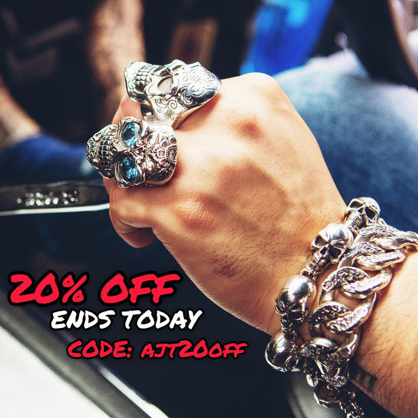 20% OFF ENDS TODAY USE...