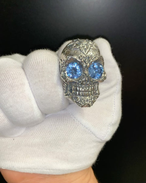 THE ICONIC CALAVERA SKULL RING...