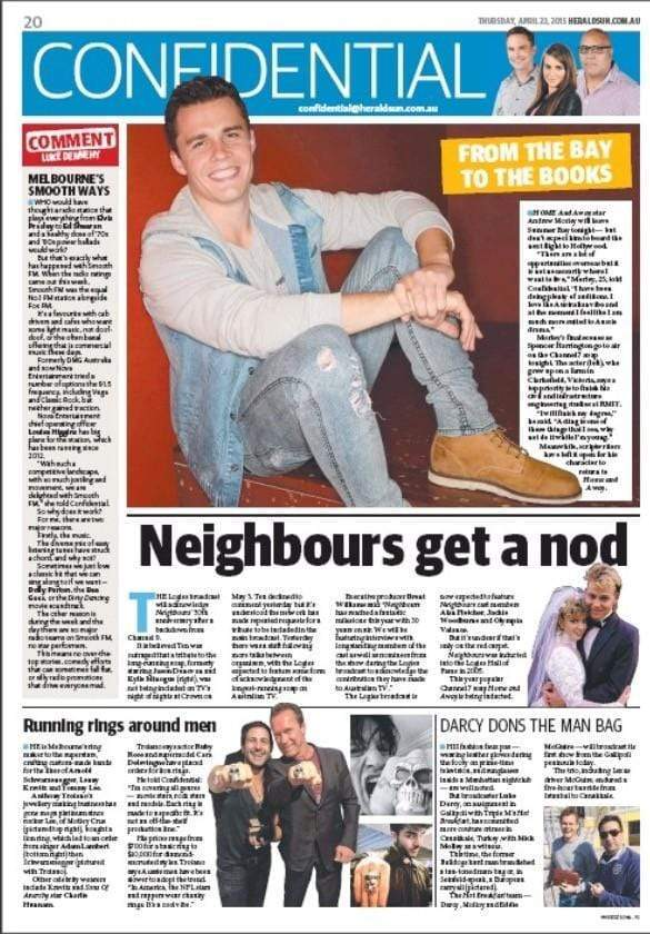 Australian jeweller Anthony Troiano encircled by celebrity buyers- Nui Te Koha, Herald Sun