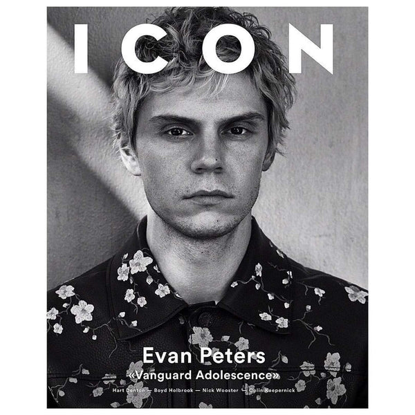 ICON MAGAZINE 1ST ISSUE- REVIVAL- AJT FEATURE