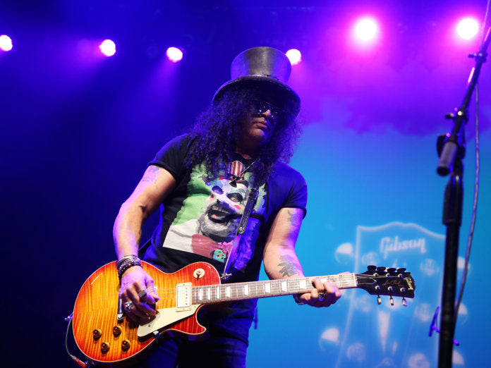 NAMM 2020: SLASH ON HIS NEW GIBSON COLLECTION, PLAYING WITH HIS FRIENDS AND THE NEW GN'R ALBUM