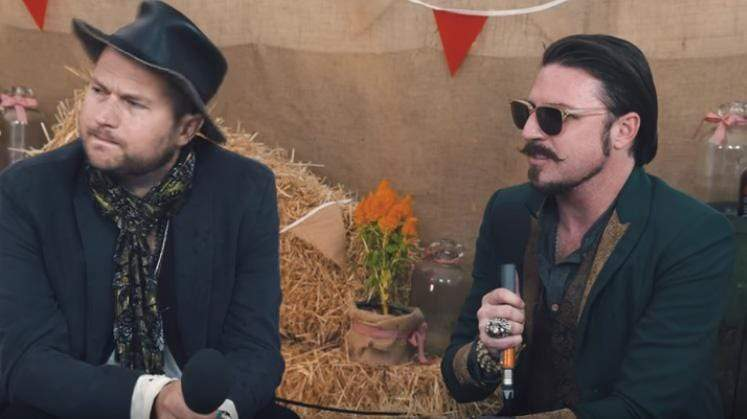 Rival Sons Interview At Ramblin' Man Fair 2017- Scott Holiday Rocking his AJT King Lion Ring