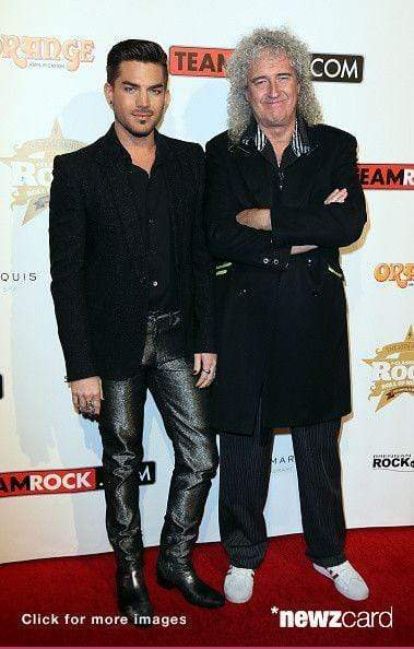 Adam Lambert Wearing his AJT Jewellery Julius Caesar Ring at the Classic Rock Awards
