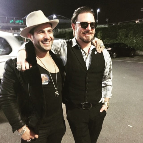Scott Holiday Rival Sons and Anthony Troiano AJT Jewellery