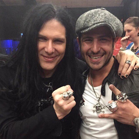 Todd Kerns Slash and Anthony Troiano AJT Jewellery