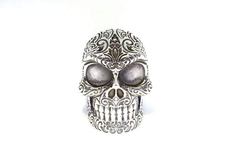 The Regal Sugar Skull Ring