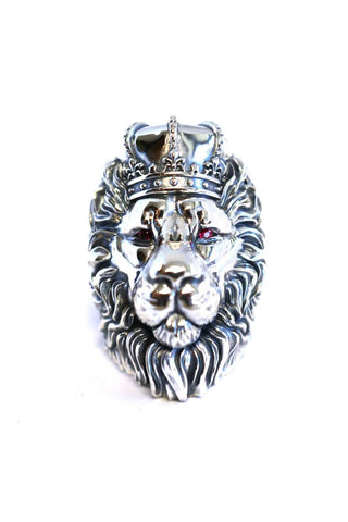 Lion King Mufasa Silver Ring