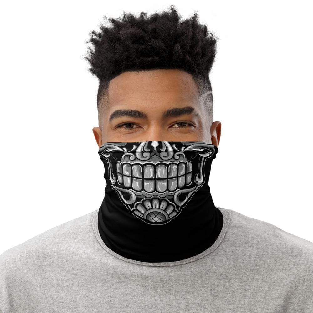 Calavera Skull Neck Gaiter-Apparel-AJT Jewellery