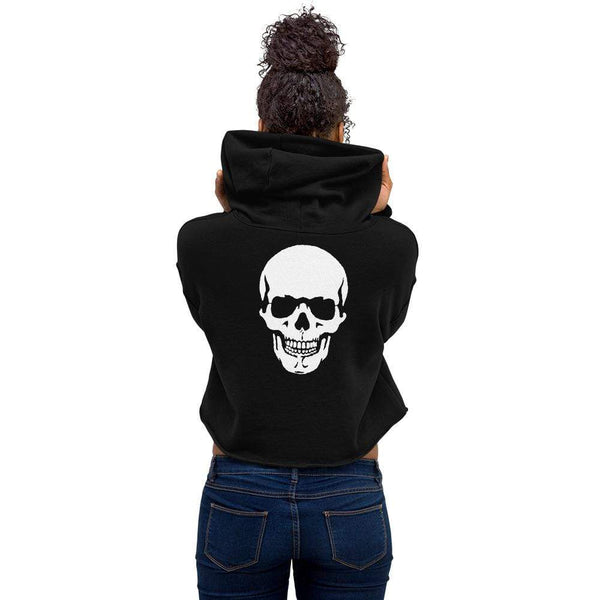 Women's Crop Hoodie-Apparel-AJT Jewellery
