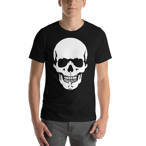 AJT Short-Sleeve Skull T-Shirt