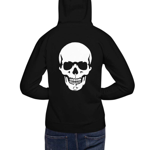 AJT Jewellery Skull Hoodie-Apparel-AJT Jewellery