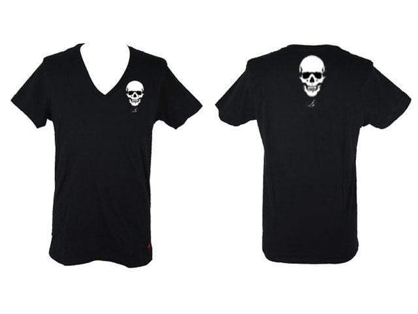Black Skull T Shirt AJT Jewellery-Apparel-AJT Jewellery