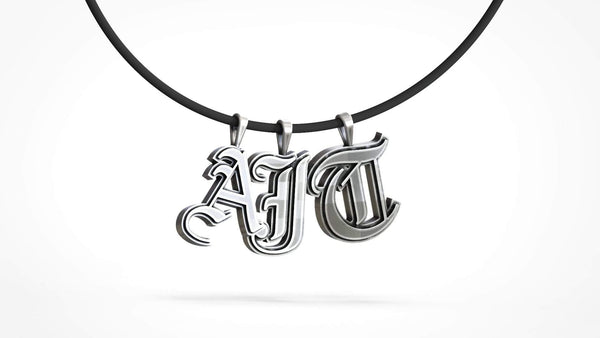 Alphabet Pendant Collection - AJT Jewellery