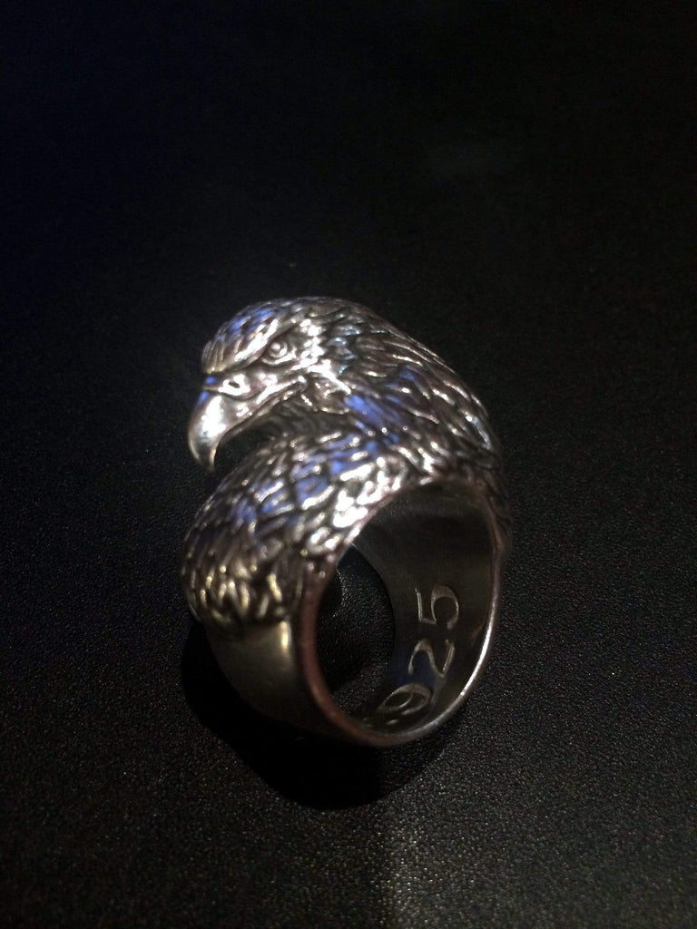 AMERICAN EAGLE BUST RING - AJT Jewellery