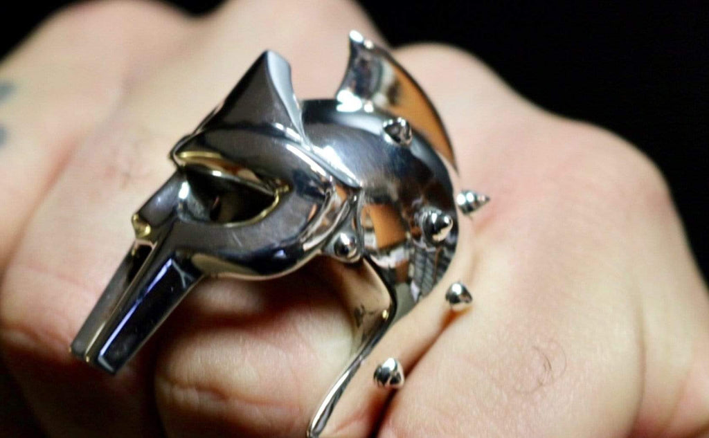 Maximus Gladiator Helmet Ring - AJT Jewellery