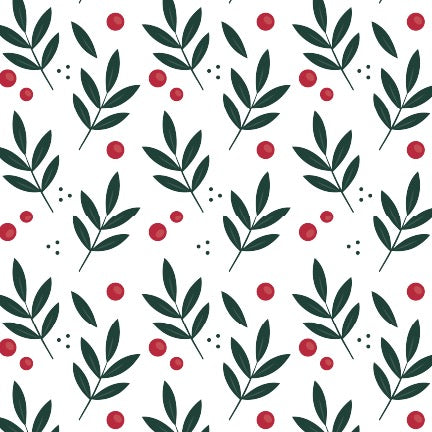 Framed Layering Print Holly + Berry - Printed