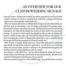 Load image into Gallery viewer, Custom Wedding Package - 2 signs