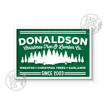 Load image into Gallery viewer, Lasercut Personalized Tree Farm