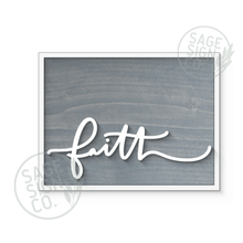 Load image into Gallery viewer, Faith Handscript