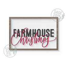 Load image into Gallery viewer, Farmhouse Christmas (Inlayed Layers)