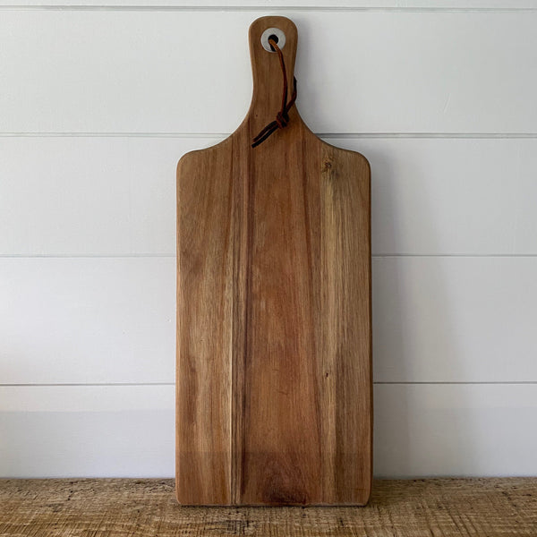Acacia Wood Cutting Board - Engraved  (Item #913D) - SageSignCo