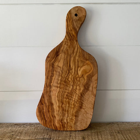 Olive Wood Cutting Board - Engraved  (Item #913C)