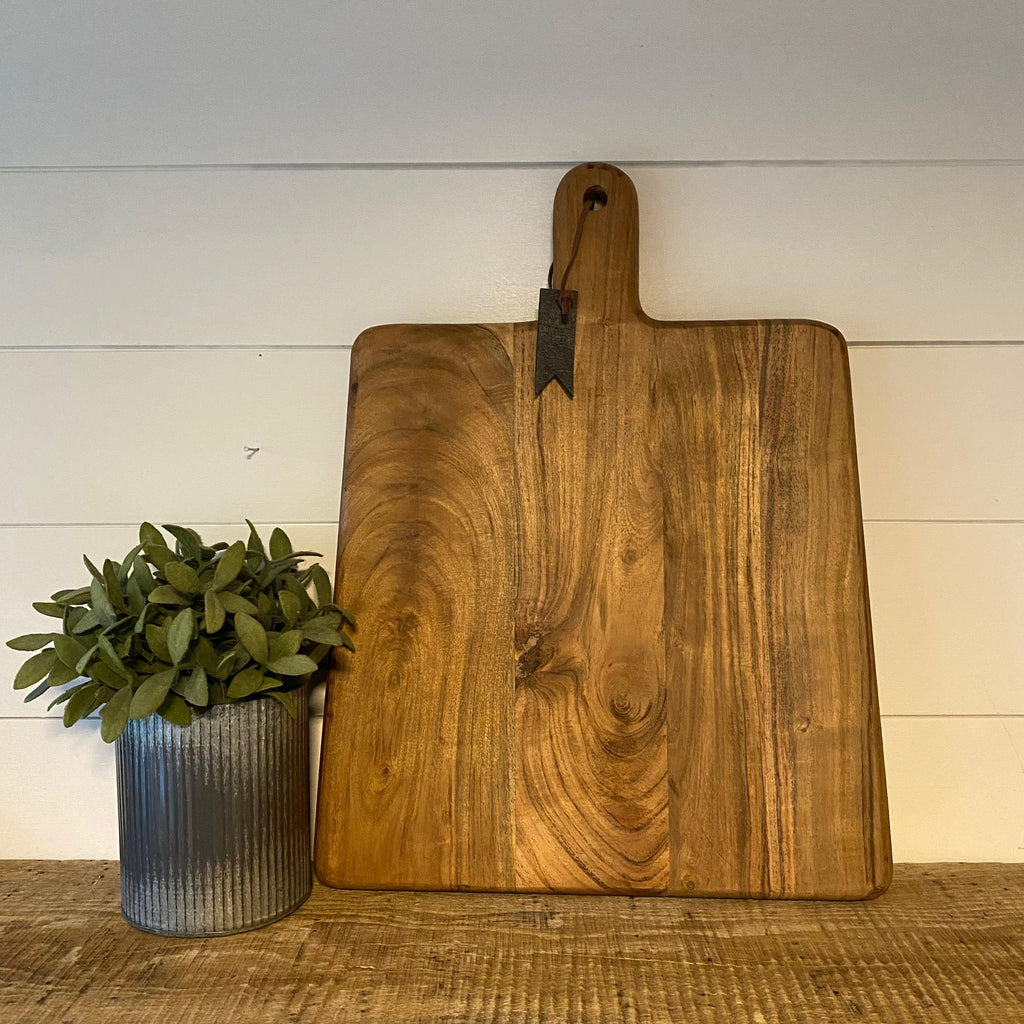 Chunky Farmhouse Serving Board - Engraved - SageSignCo