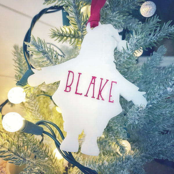 Personalized Shape Ornament - Multiple Shapes
