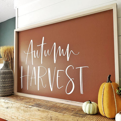 Printed Autumn Harvest