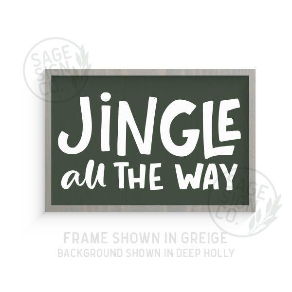 Chunky Jingle All The Way - Printed