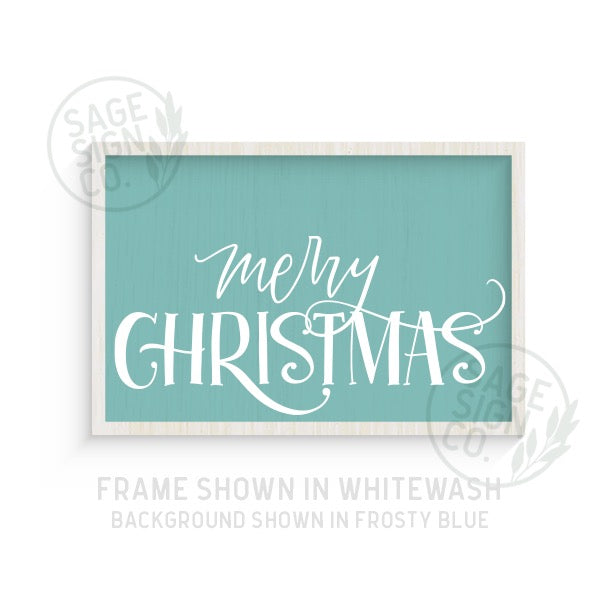 Merry Christmas Whimsy - Printed