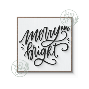 Merry and Bright Script