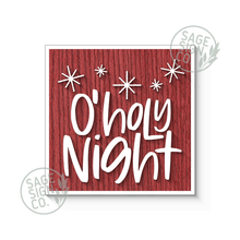 Load image into Gallery viewer, O Holy Night with Stars