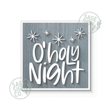 O Holy Night with Stars