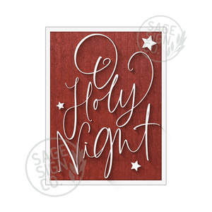 Oh Holy Night Handscript