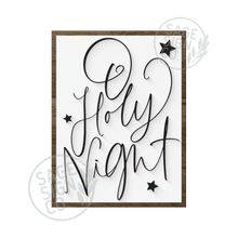 Load image into Gallery viewer, Oh Holy Night Handscript