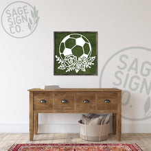 Load image into Gallery viewer, Soccer Ball with Laurel