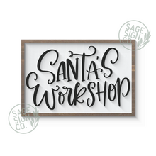 Load image into Gallery viewer, Santa's Workshop
