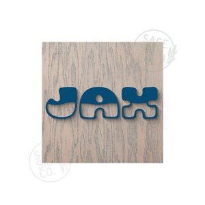 CUSTOMIZE IT !  Square Nursery Sign - First Name - SageSignCo