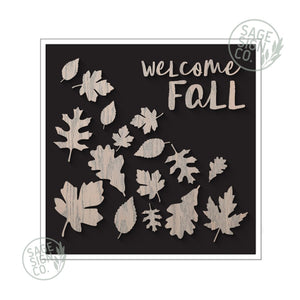 Welcome Fall - Black