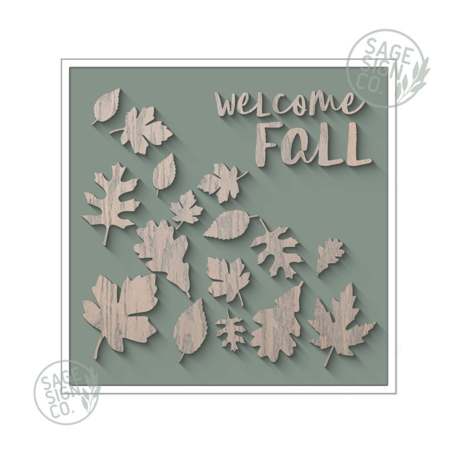 Welcome Fall - Sage