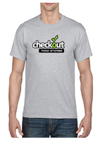 Custom Gildan Men's DryBlend Grey T-shirt