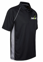 Short Sleeve Moisture Wicking Performance Golf Polo Shirt