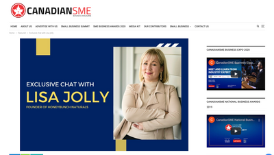 As BEEn on Canadiansme.ca ! - Exclusive Chat with Lisa Jolly